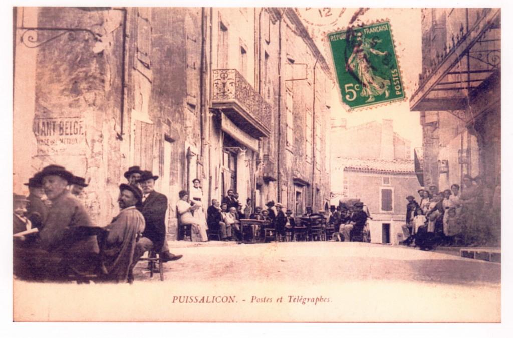 PUISSALICON – Postes et Télégraphes